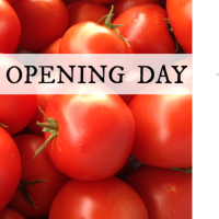 Farmers Market Grand Opening Day