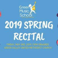 2019 Green Music School Spring Recital