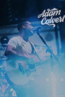 Adam Calvert at Upper Deck