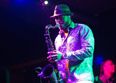 Elan Trotman at BLU Jazz+