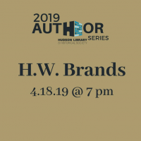 An Evening with New York Times bestselling historian H.W. Brands