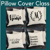 Pillow Cover Class