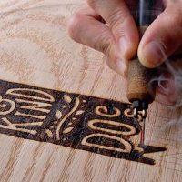 Pyrography: Decorative Wood Burning