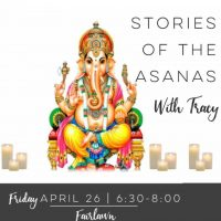 The Stories of the Asanas with Tracy