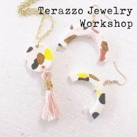 Terrazzo Clay Jewelry Workshop