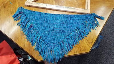 Tri-loom Weaving