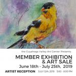 ARTIST RECEPTION: Member Exhibition