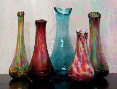 Advanced glassblowing workshop - Swing Vase