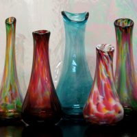 Advanced glassblowing workshop - Swing Vase