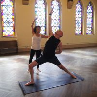 Yoga in The Sanctuary