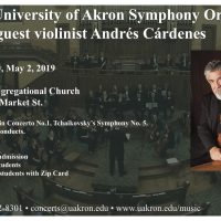 UA Symphony Orchestra with Andres Cardenes