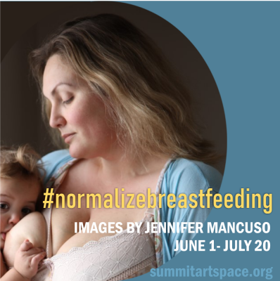 #normalizebreastfeeding Photo Exhibit is bold, direct, candid