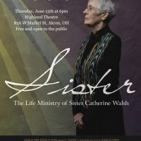 "Film Debut ""Sister: The Life Ministry of Sister Catherine Walsh"