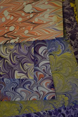 Claire Marks - Jubilee: Marbled Papers