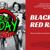 Kenmore First Friday June Edition: Red and Black Rally
