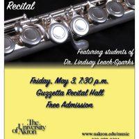 UA Flute Studio Recital