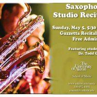 UA Saxophone Studio Recital