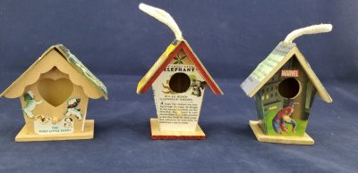 Golden Book Mini Bird House Craft