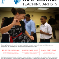 PAID Job Opportunity - Teaching Artist