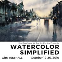 Watercolor Simplified with Yuki Hall