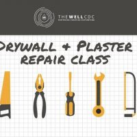 Wall Series: Drywall and Plaster Repair Class