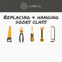 Finish Carpentry Series: Replacing and Hanging Doors class