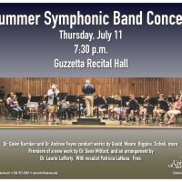 UA Summer Symphonic Band