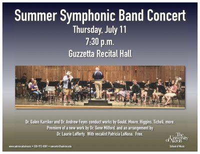 UA Summer Symphonic Band