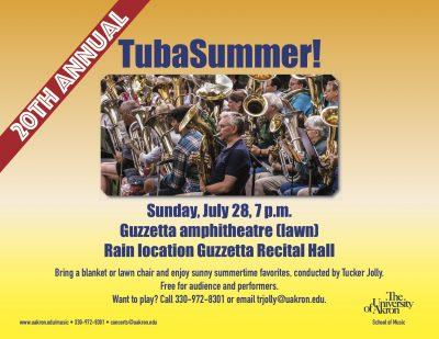 20th annual TubaSummer
