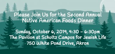Second Annual Native American Foods Dinner