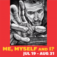 OPENING NIGHT for Me, Myself and I? self-portraits at Summit Artspace