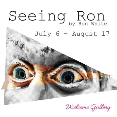 """""""Seeing Ron"""" is believing! Artist has show at Summit Artspace, July 6-Aug 17"""