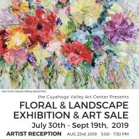 ARTISTS RECEPTION: Floral and Landscape Exhibition