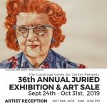 ARTISTS RECEPTION: 36th Annual Juried Exhibition