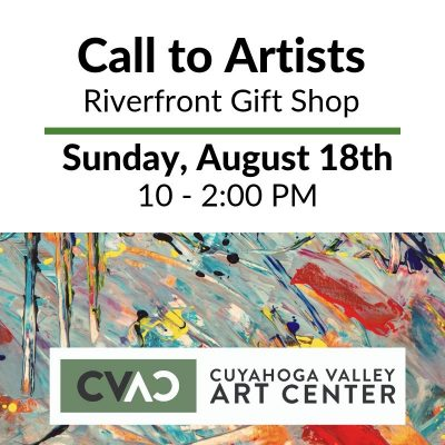 CVAC: Riverfront Gift Shop Open Interview and Sample Drop Off Event