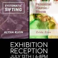 Akron Soul Train Exhibition featuring Alysia Klein and Zelda Zinn