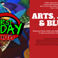 Kenmore First Friday August Edition: Arts, Jazz and Blues