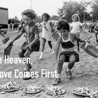 In Heaven, Love Comes First