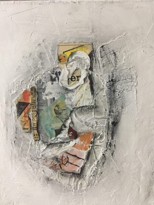 Cleveland Artist Misty Hughes: Mixed Media Abstractions
