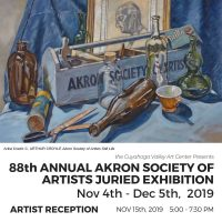 ARTISTS RECEPTION: 88th Annual ASA Juried Exhibtion