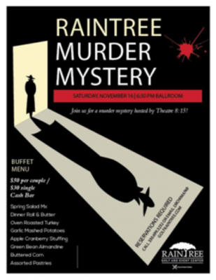 RAINTREE MURDER MYSTERY