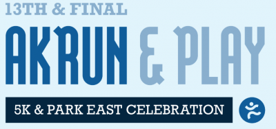 AkRun and Play: 5K and Park East Celebration
