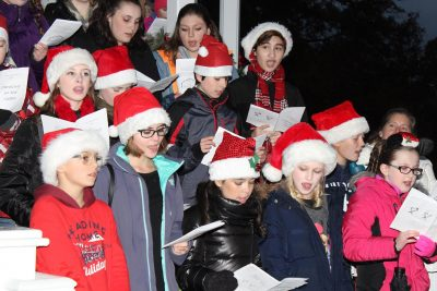 Caroling on the Green