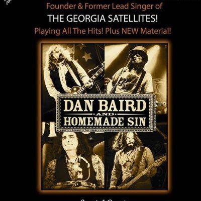 Dan Baird & Homemade Sin - A 175 Concert Experience!