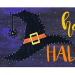 Halloween String Art - Paint Create and Sip Party ...