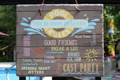 Hudson Players Membership Kickoff Party 2019