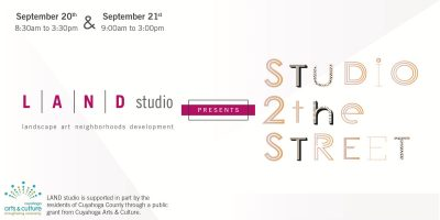 Studio to the Street: Free Public Artist Workshop
