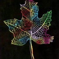 Open Studio: Fall Mandala & Scratch Art (all ages)