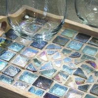 Mosaic Tile Tray - Create and Sip Party Art Maker Class