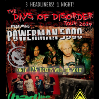Powerman5000, with (hed)p.e. & Adema - A 175 Concert Experience!